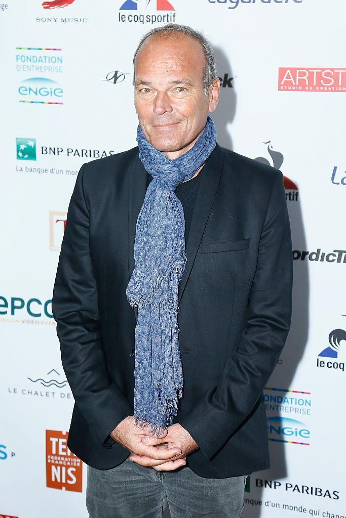 "Laurent Baffie assiste à la célébration de ""Fete le mur"" 