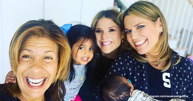 Jenna Bush Hager Meets Hoda Kotb's 'Adorable' New Baby