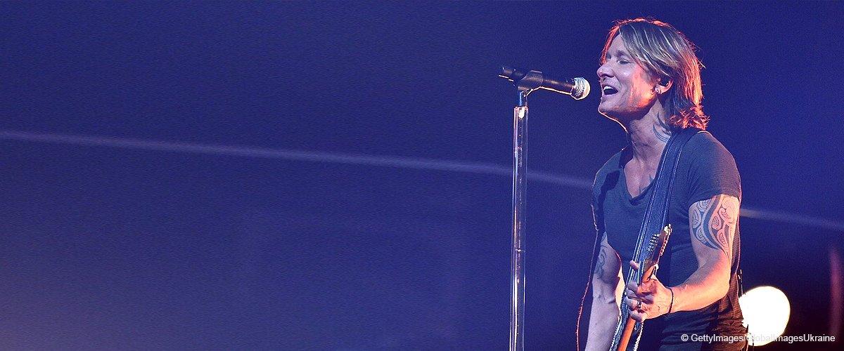 Keith Urban lässt Fans mit seiner Stimme schmelzen in schönem Elvis-Klassiker