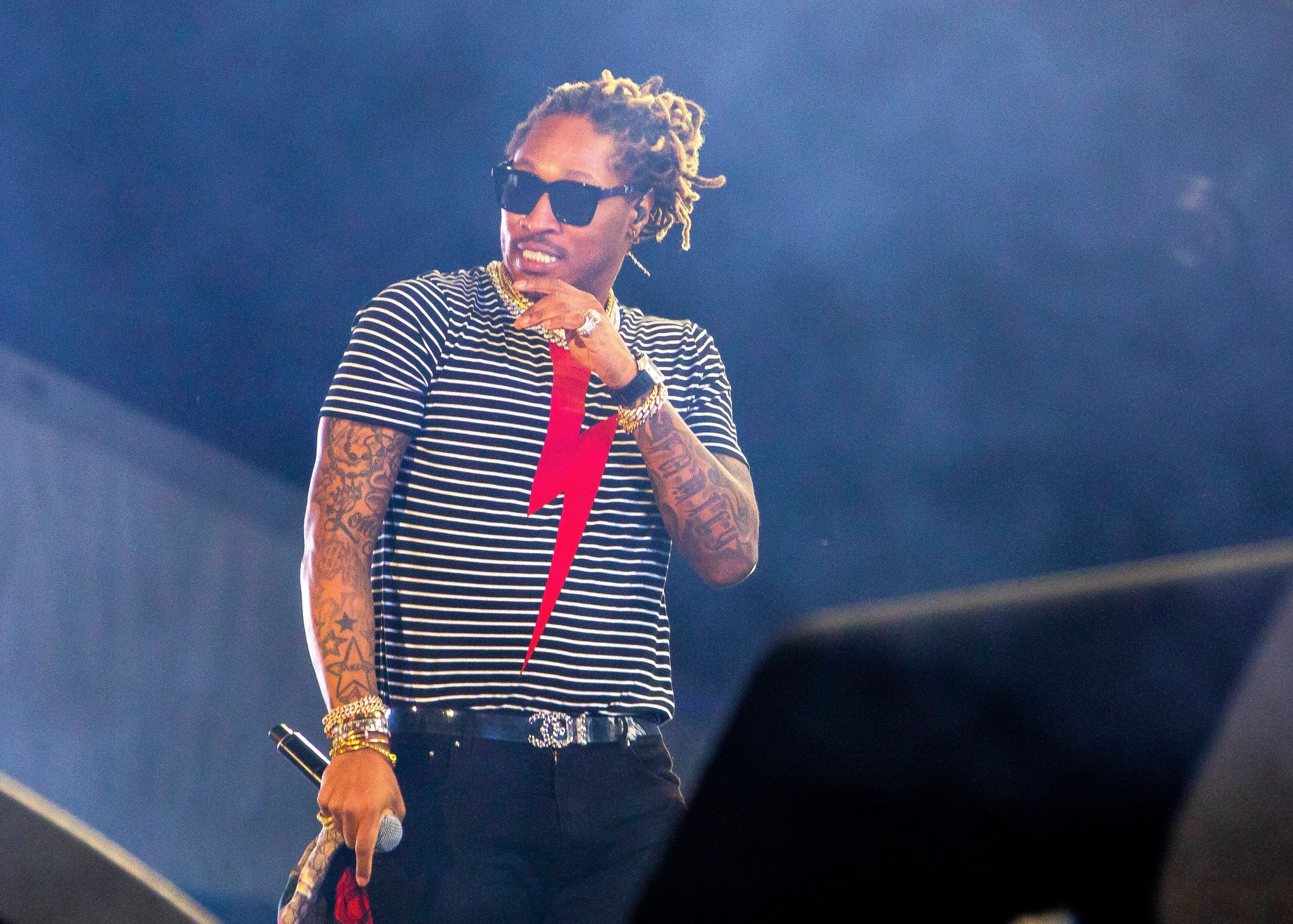 Rapper Future performing at the Festival d'ete de Quebec in 2018 in Quebec City, Canada | Source: Getty Images