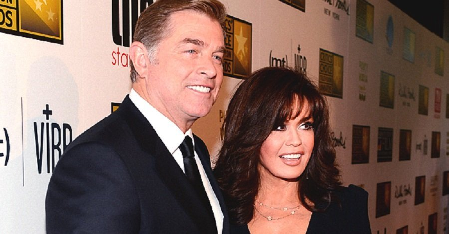 Marie Osmond and her husband, Stephen Craig, at an event.| Photo: Getty Images.