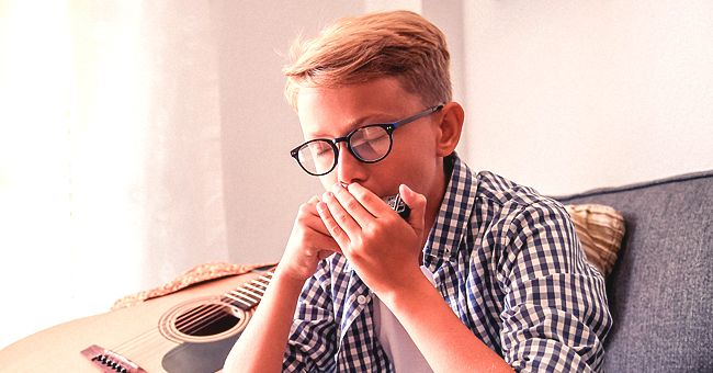 Daily Joke: Little Boy Asks His Grandpa If He Can Play the Harmonica