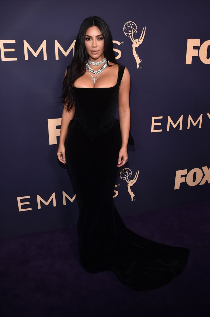 Kim Kardashian attends the 71st Emmy Awards at Microsoft Theater. | Photo: Getty Images