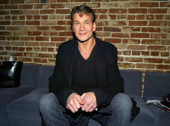 Patrick Swayze on January 8, 2004 at Cinespace, in Los Angeles, California | Photo: Getty Images