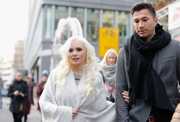 Daniela Katzenberger und Lucas Cordalis, November, Köln, 2016 | Quelle: Getty Images