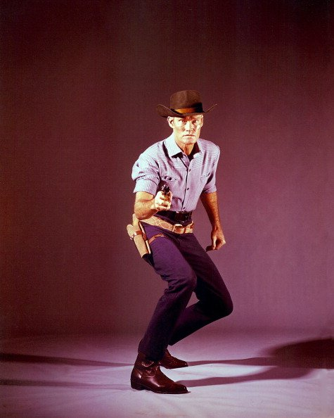 """Chuck Connors from """"The Rifleman"""" pictured in 1960. 