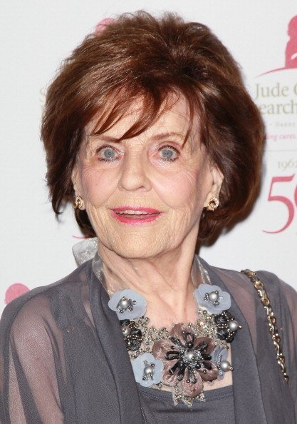 Marjorie Lord at The Beverly Hilton hotel on January 7, 2012 in Beverly Hills, California. | Photo: Getty Images
