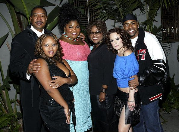 "Yvette Wilson & the cast of ""The Parkers"" on Nov. 17, 2003 in Hollywood, California 