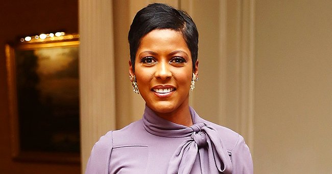 Tamron Hall Fans Love Her Cute Video of Baby Son Moses Crawling Along to a Tik Tok Song