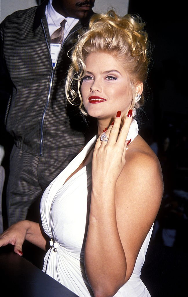 Anna Nicole Smith at the VSDA Convention in Las Vegas, Nevada. | Photo: Getty Images