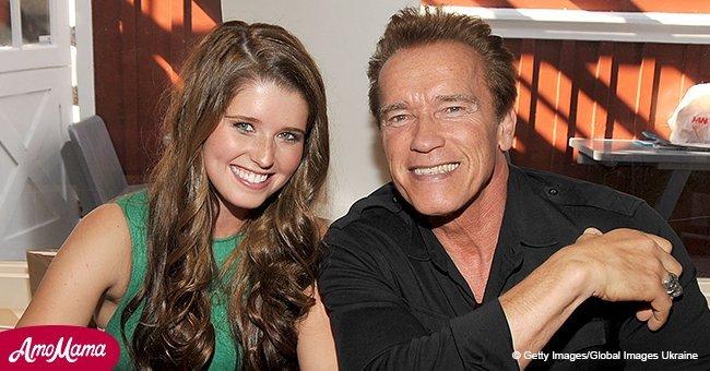 Arnold Schwarzenegger's daughter looks happy on date with new boyfriend