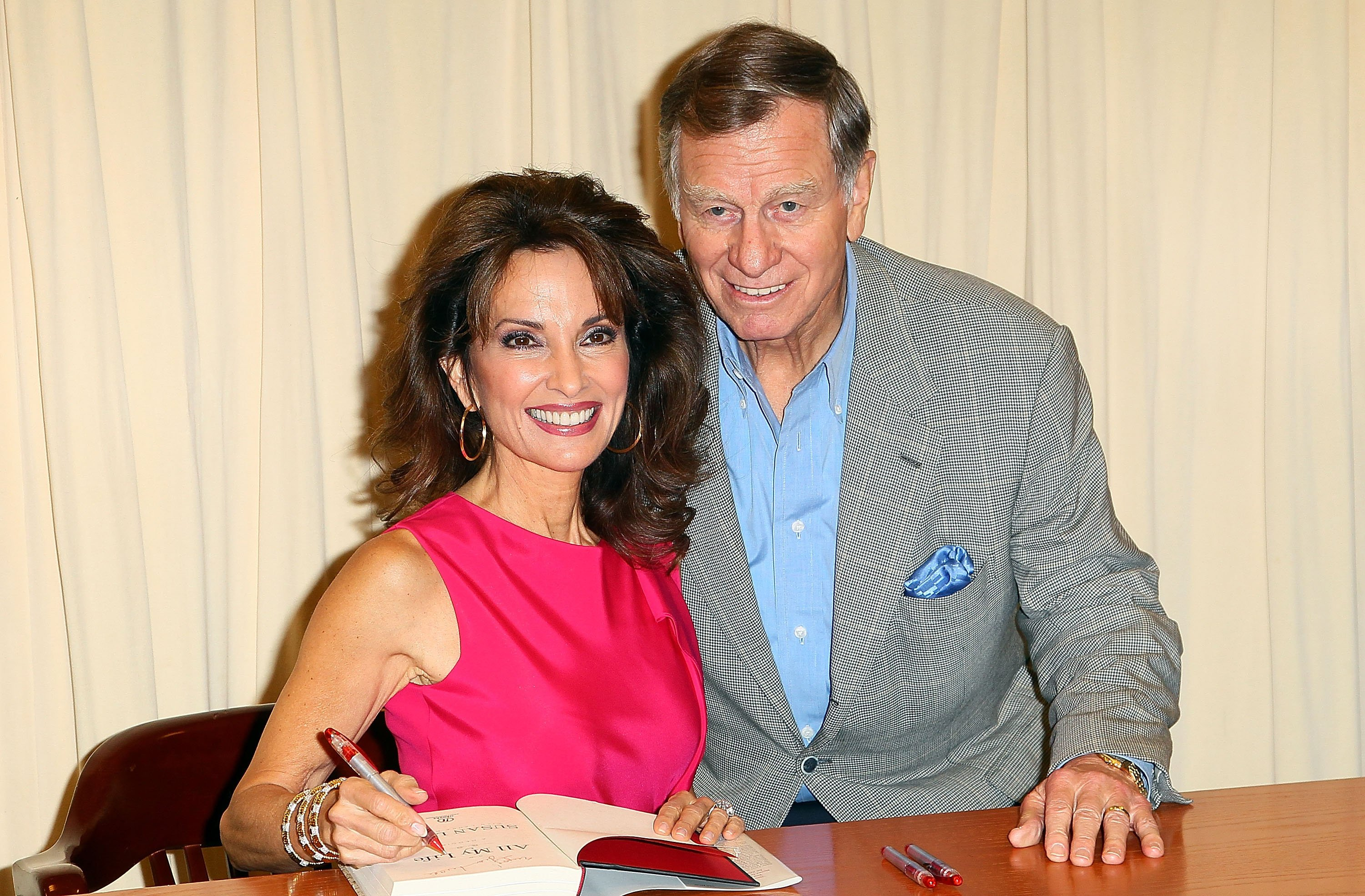 Susan Lucci and husband Helmut Huber during a 2011 book-signing event in New York. | Photo: Getty Images