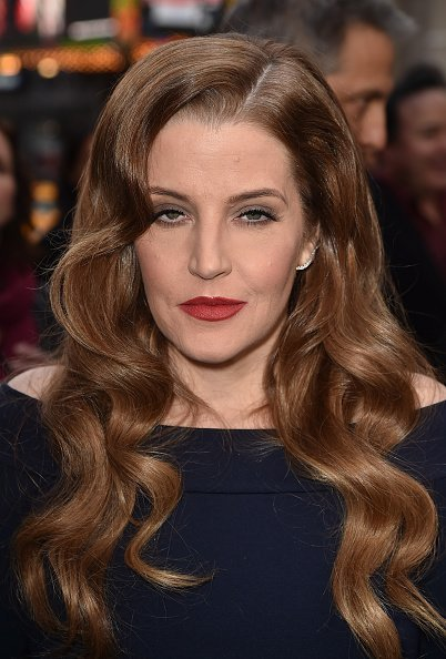 Lisa Marie Presley en el Teatro Chino TCL el 7 de mayo de 2015 en Hollywood, California. | Foto: Getty Images
