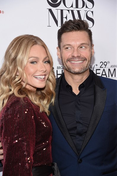 Kelly Ripa and Ryan Seacrest attend the Broadcasting & Cable Hall of Fame Awards Anniversary Gala on October 29, 2019 | Photo: Getty Images