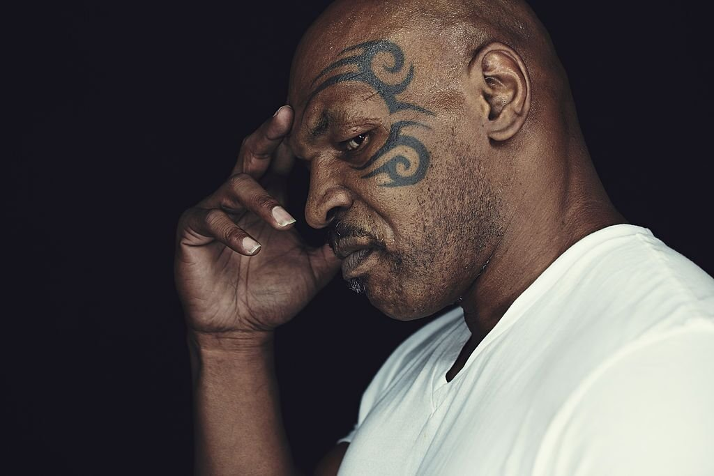 Mike Tyson at a photoshoot for  director James Toback's documentary film 'Tyson'/ Source: Getty Images