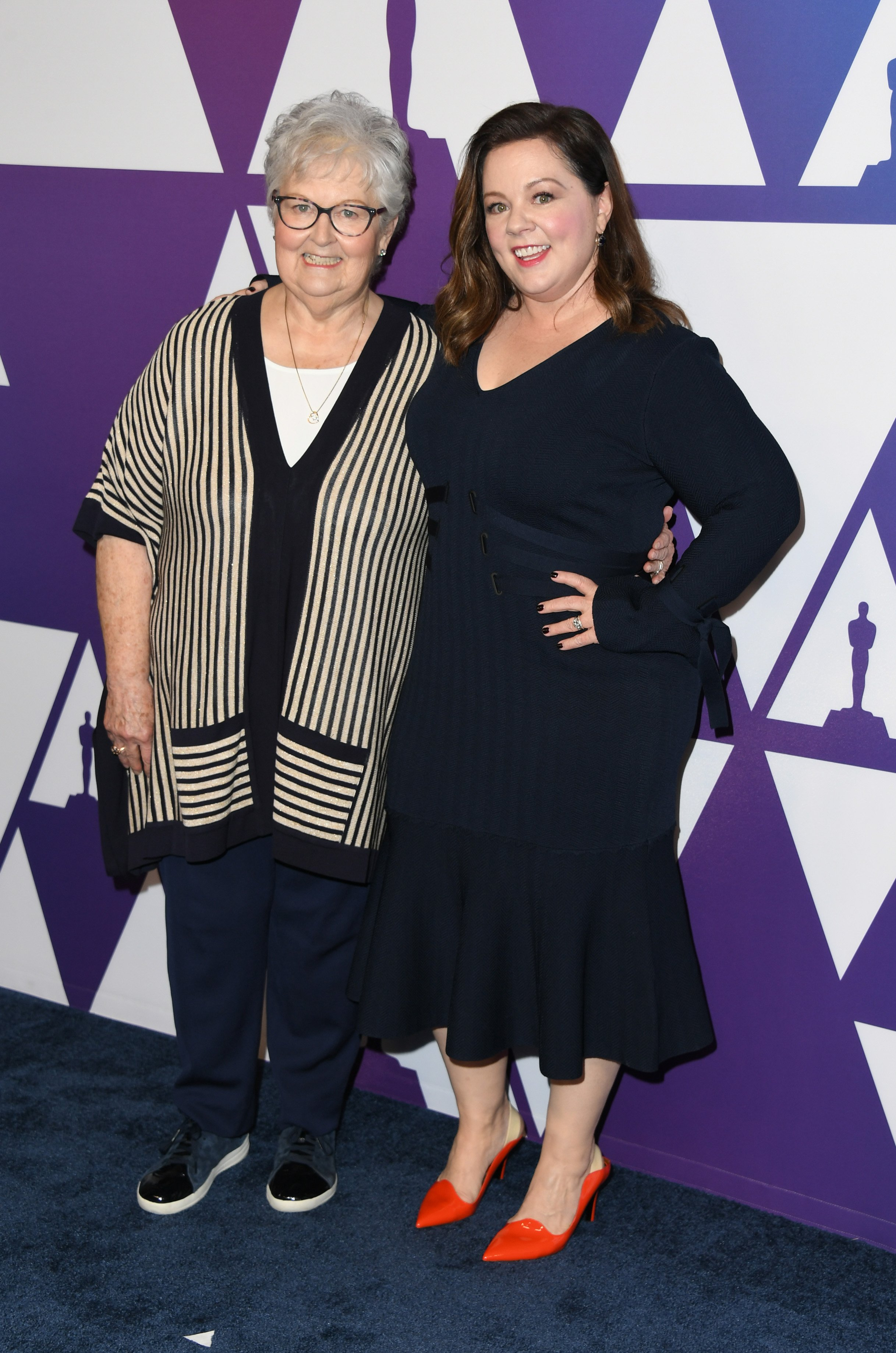 Melissa McCarthy and mother Sandra McCarthy at the 2019 Academy Awards | Photo: Getty Images