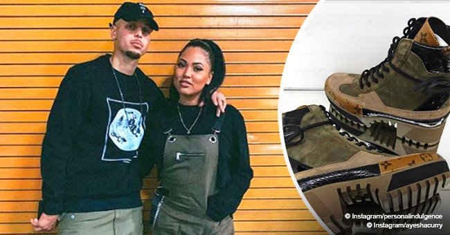 Stephen Curry goes twinning with wife Ayesha who rocks a pair of $1,230 boots on date night