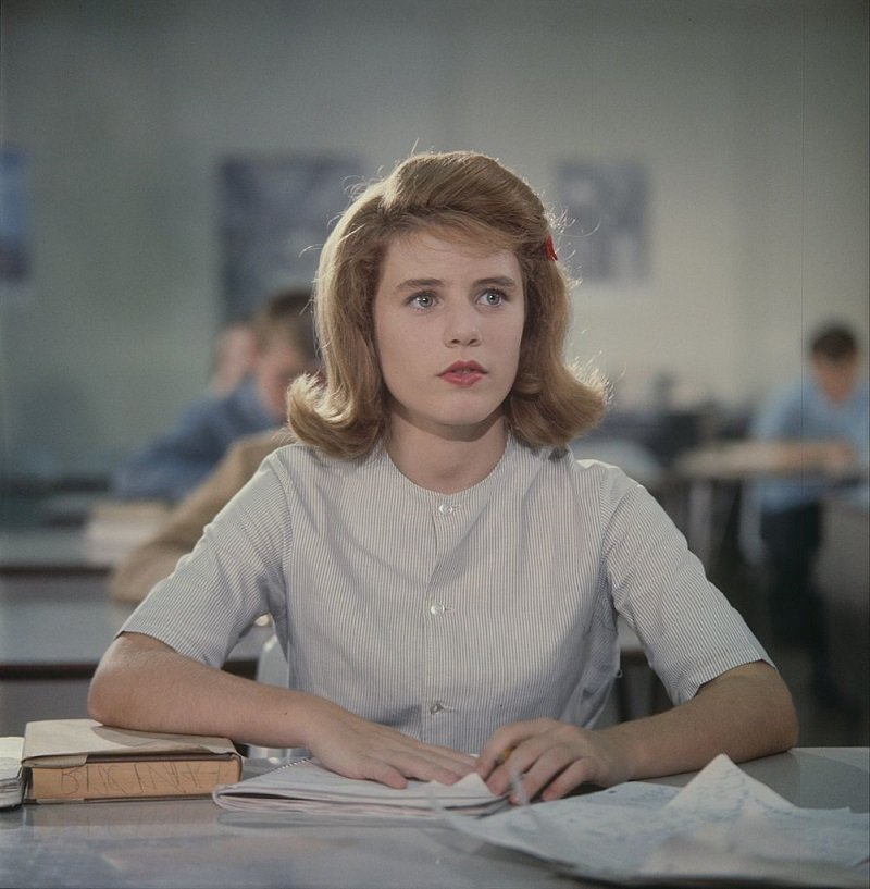 """Patty Duke filming """"The Patty Duke Show"""" in the mid 1960s   Photo: Getty Images"""