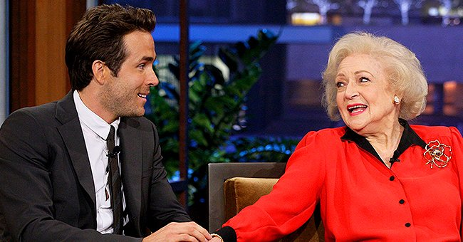 Ryan Reynolds & Betty White Feud in Hilarious Throwback Video He Posted on Her 99th Birthday