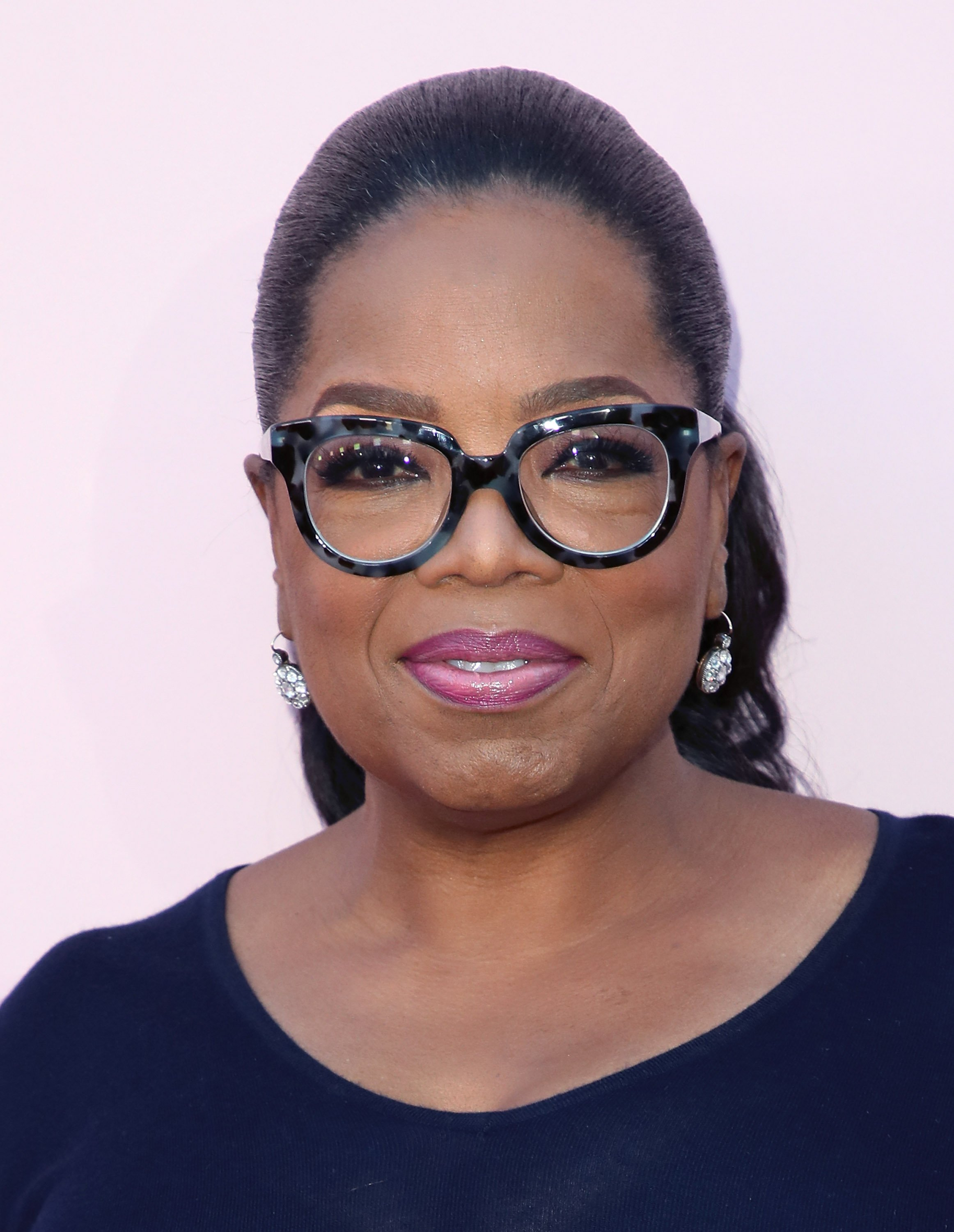 "Oprah Winfrey at the premiere of OWN's ""Love Is"" in June 2018. 