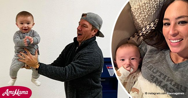 Joanna Gaines Shares Her Baby Son's Passport Photoshoot, and the Snaps Are Hilarious