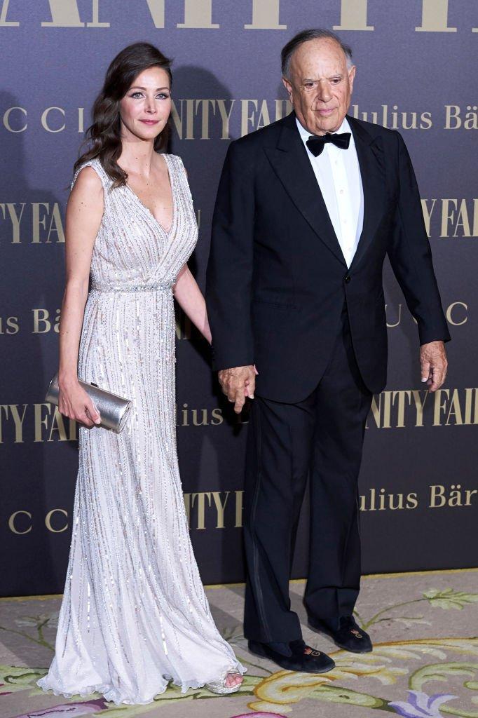 Carlos Falcó y Ester Doña en la fiesta Vanity Fair Personalidad del Año en el Hotel Ritz el 21 de noviembre de 2017 en Madrid, España. | Imagen: Getty Images
