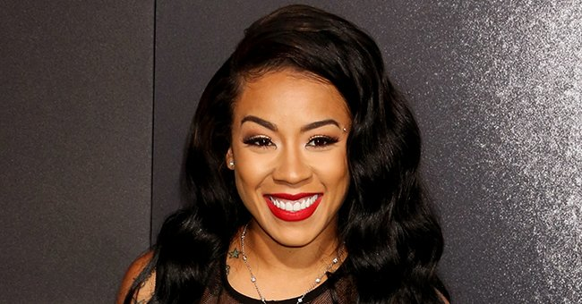 Keyshia Cole Poses in Stylish Chanel Flip Flops as She Reveals the New Tattoo Around Her Ankle
