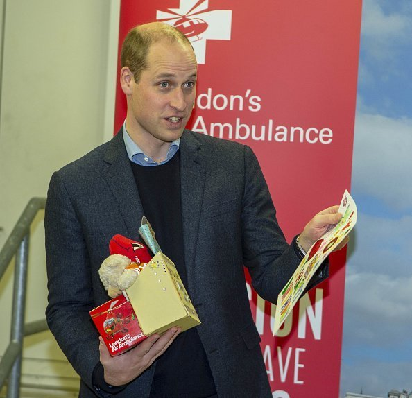 Prince William visits London Air Ambulance Charity at the The Royal London Hospital on January 9, 2019 | Photo: Getty Images