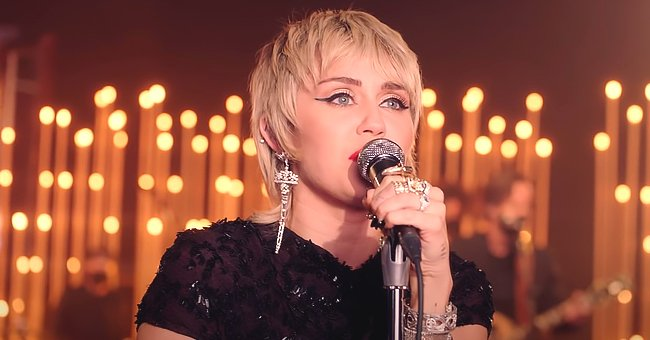 Miley Cyrus Performs Touching Eagles Cover to Honor Her Late Grandmother