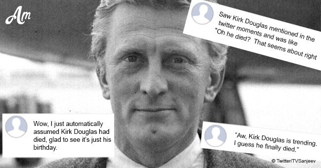 Kirk Douglas' fans freak out after hearing rumors of his death during a birthday celebration