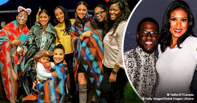 Kevin Hart and wife dragged over 'insensitive' cowboys & Indians themed-birthday party for son
