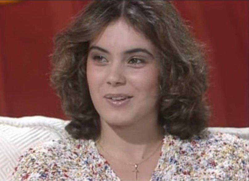 Sonia Martínez empezó su carrera como actriz en 1984. | Foto: YouTube/Ivan F