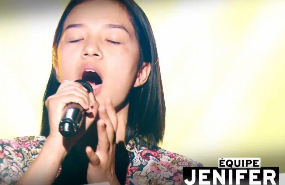 Nayana qui a rejoint l'équipe de Jenifer. l Source : TF1 Replay