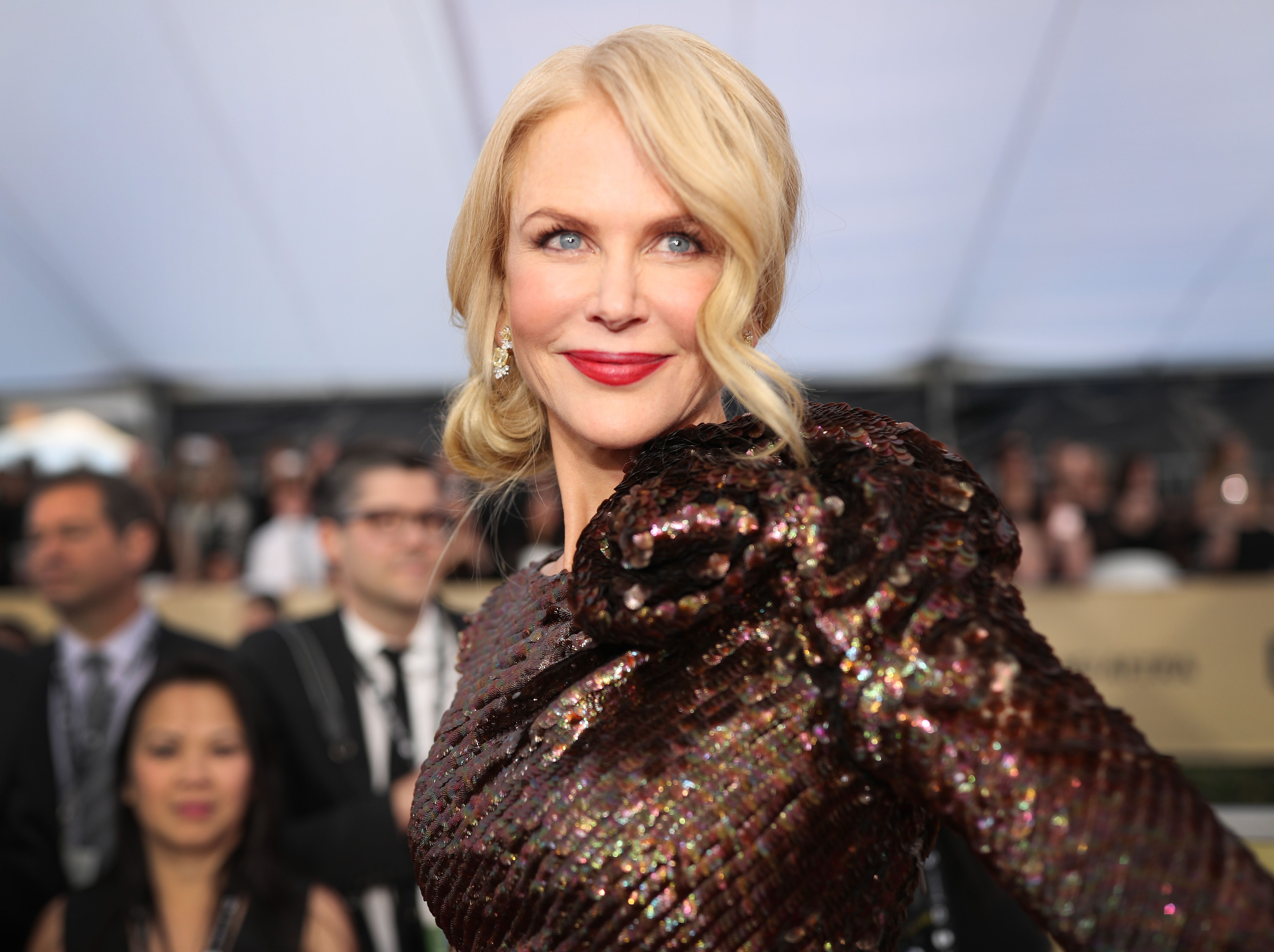 Niclole Kidman at the 24th Annual Screen Actors Guild Awards at The Shrine Auditorium on January 21, 2018 | Photo: Getty Images