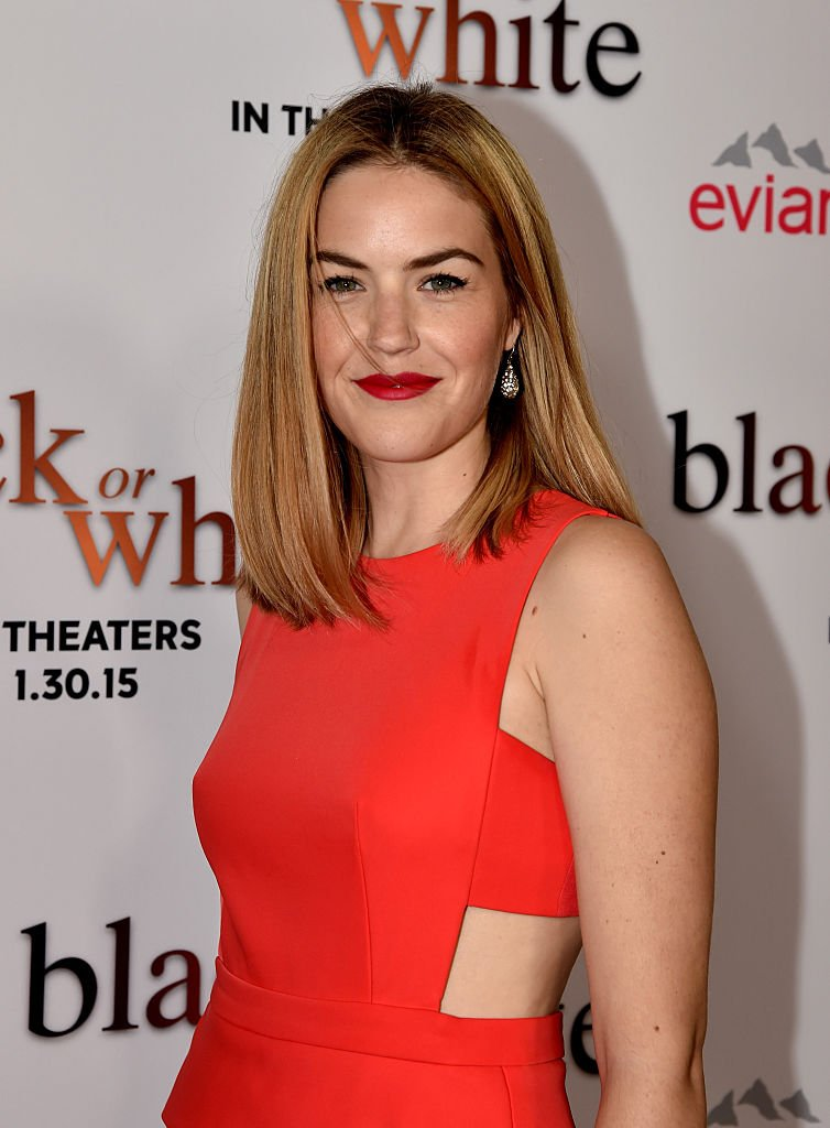 """Lily Costner arrives at the premiere of Relativity Media's """"Black Or White""""  on January 20, 2015, in Los Angeles, California. 
