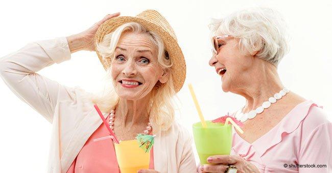 Ancianas que han sido amigas por 84 años celebran sus cumpleaños juntas cada año