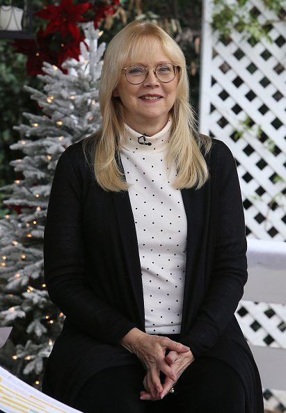 """Shelley Long visits Hallmark's """"Home & Family"""" at Universal Studios Hollywood on November 3, 2017 