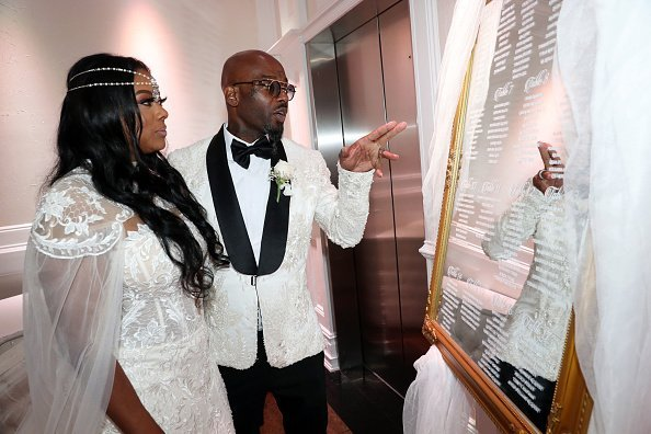 Cicely Evans and Treach celebrate their marriage at Waterside Reception Hall on September 08, 2019 | Photo: Getty Images