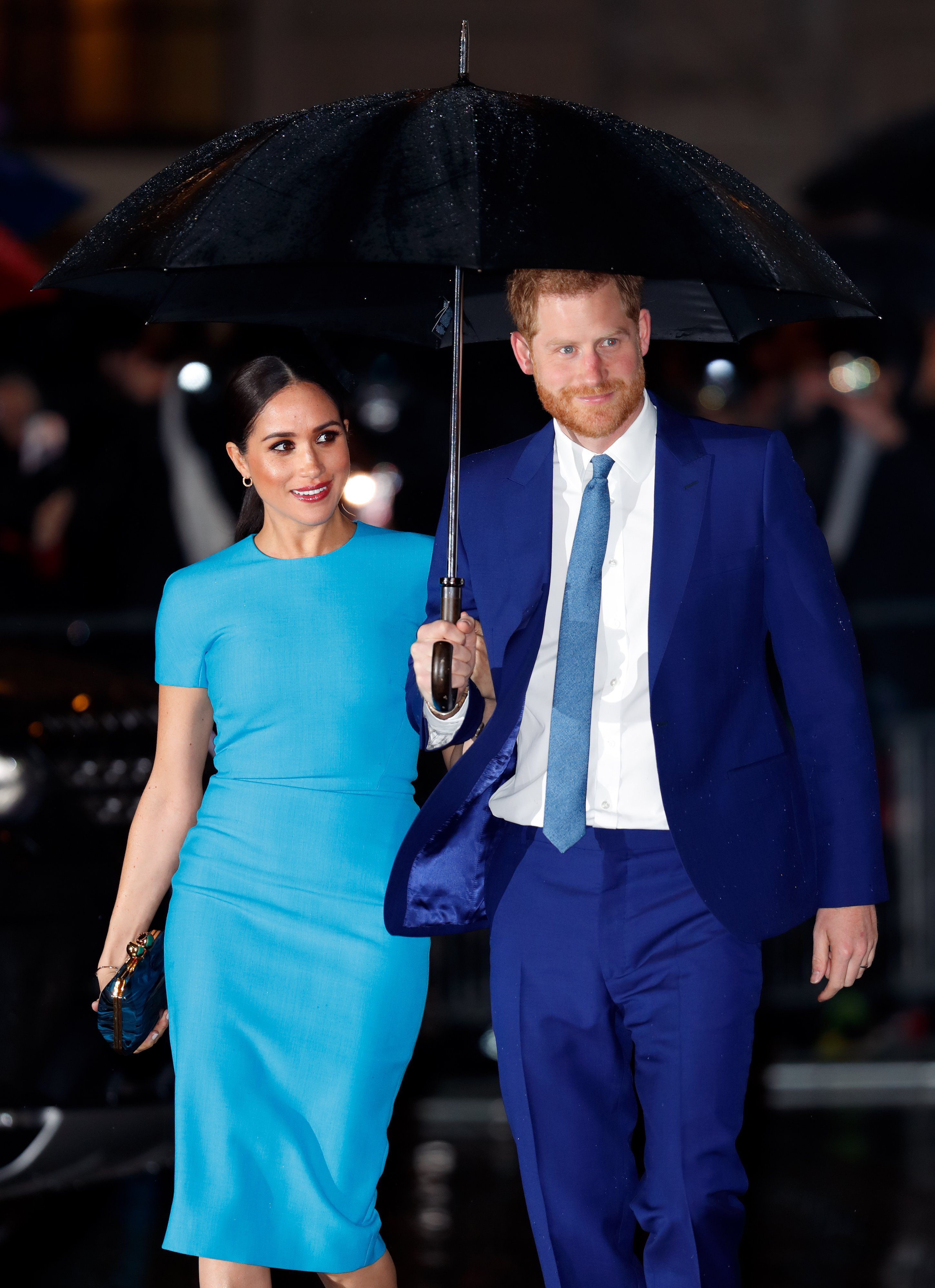 Meghan Markle and Prince Harry attend The Endeavour Fund Awards on March 5, 2020, in London, England. | Source: Getty Images.