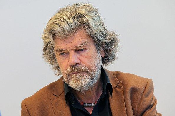 Reinhold Messner, Frankfurter Buchmesse, Frankfurt am Main, 2017   Quelle: Getty Images