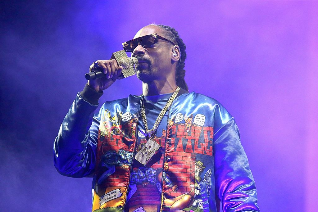 Snoop Dogg performing at the Hometown Heroes Drive-In Concert on September 25, 2020 in Hutto, Texas.   Photo: Getty Images