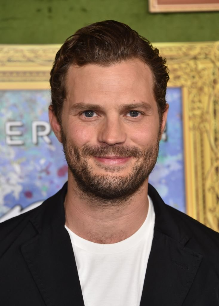 """Jamie Dornan at the HBO premiere of """"My Dinner With Herve"""" on October 4, 2018 at the Paramount Studios in Los Angeles 