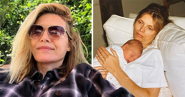 'Scarface' Star Michelle Pfeiffer Shares Intimate Throwback Photo of Herself Cradling Her Baby