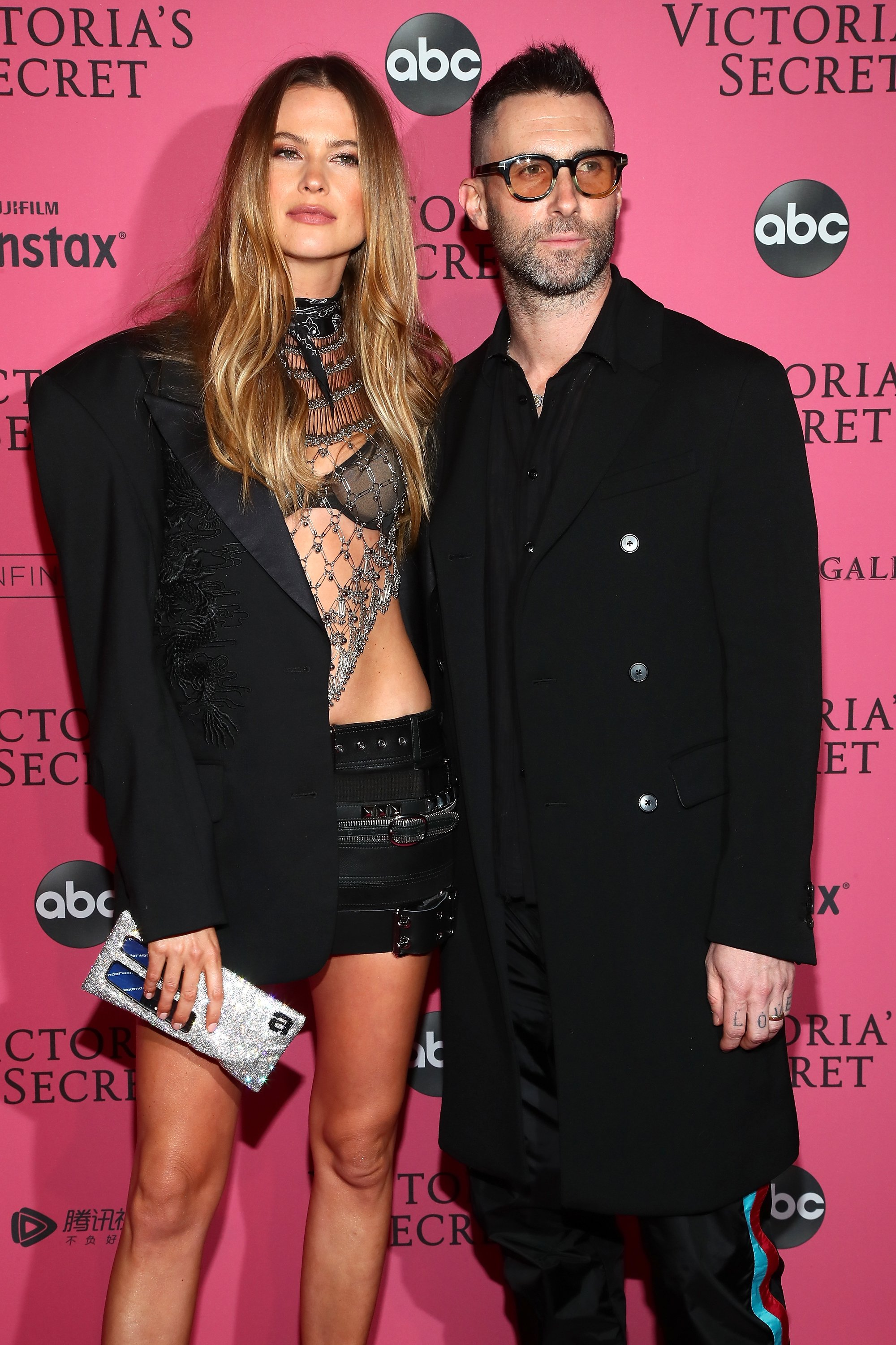 Behati Prinsloo and Adam Levine at the Victoria's Secret Fashion Show After Party on November 8, 2018 in New York City | Photo: Getty Images