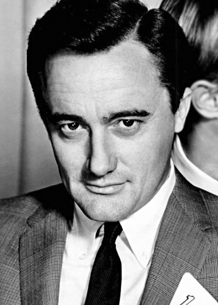 """Robert Vaughn from the television program The Man from U.N.C.L.E."""" 1966 