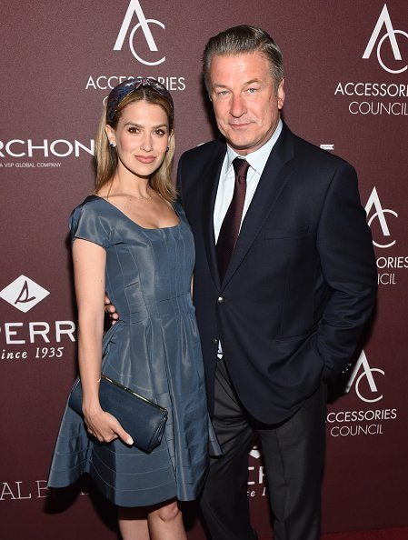 Hilaria Baldwin and Alec Baldwin at the 23rd Annual ACE Awards. | Source: Getty Images