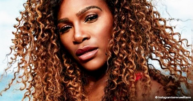 Serena Williams goes topless & sings 'I Touch Myself' to raise breast cancer awareness in video