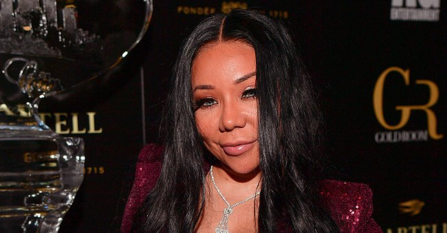 Tiny Harris' Daughter  Zonnique Flaunts Her Baby Bump & Cuddles up to Her Man in a Sweet Photo