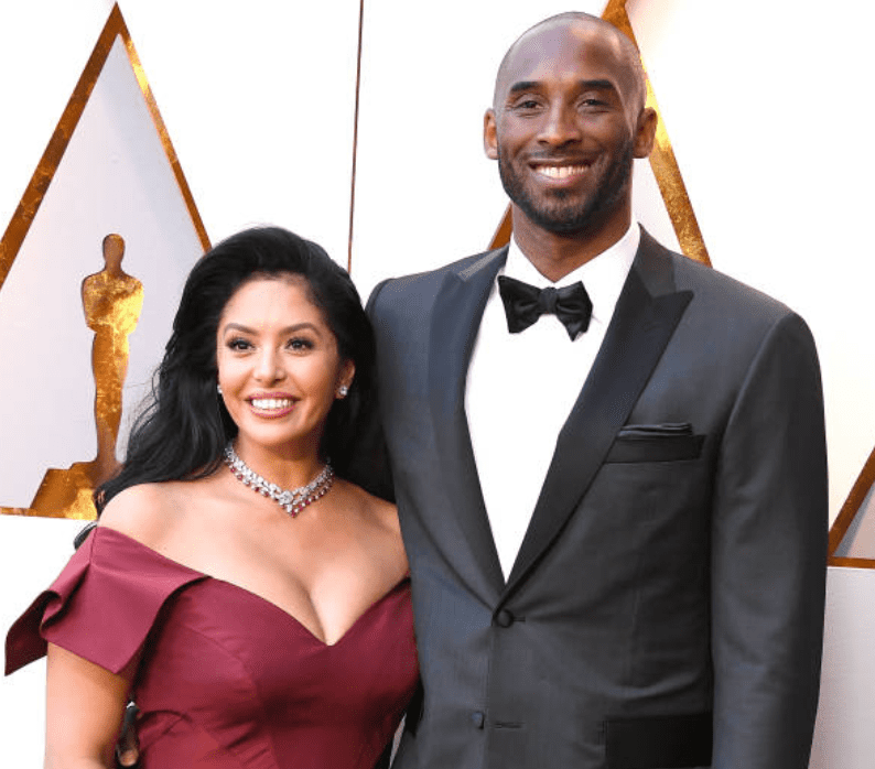 Kobe Bryant and his wife Vanessa Bryant pose as they arrive on the red carpet at the 90th Annual Academy Awards, on March 4, 2018 in Hollywood, California | Source: Getty Images (Photo by Steve Granitz/WireImage)