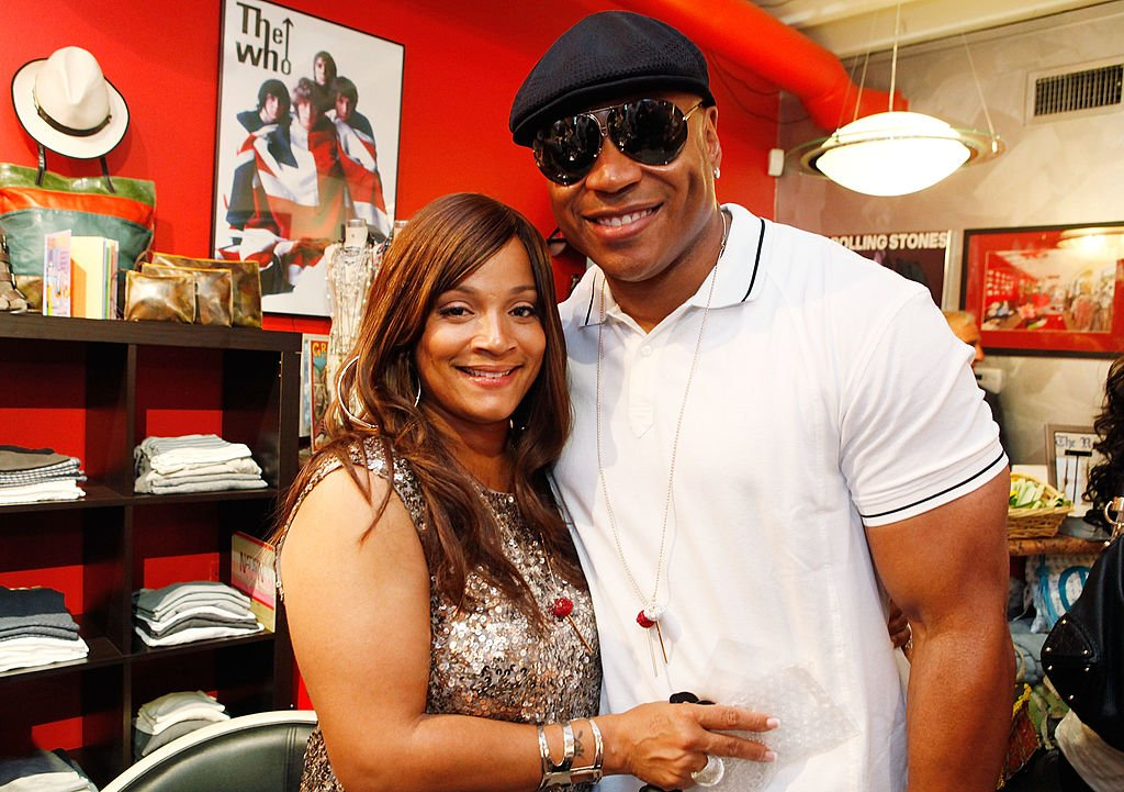 L.L Cool J and Simone Smith attend her Jewelry Trunk Show at Shag on June 16, 2011 in Roslyn, New York. | Source: Getty Images